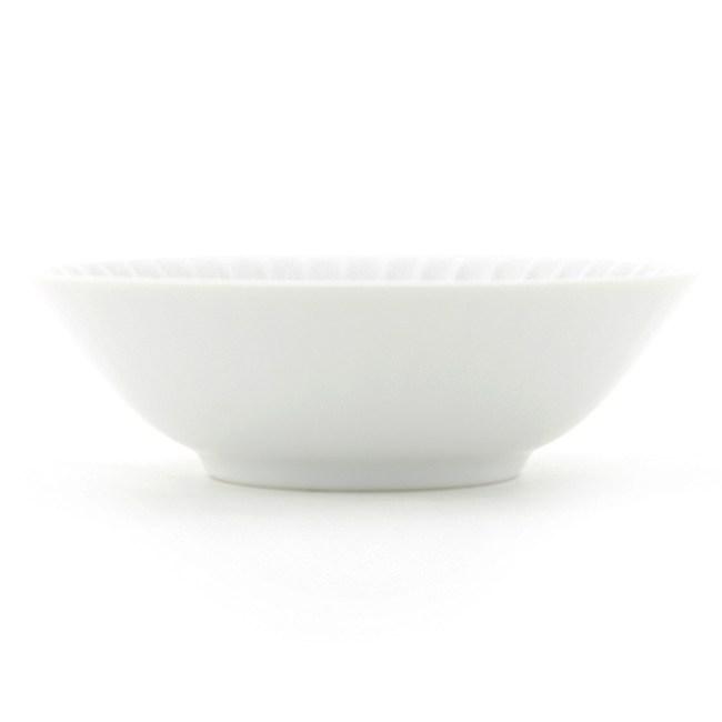 HOLA 日本洛紋飯碗 14cm 白