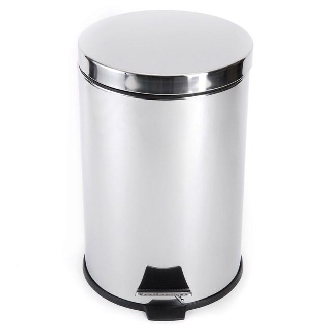 踏式垃圾桶 12L 不鏽鋼