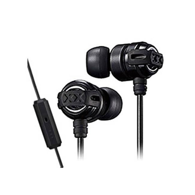 【送收納盒】JVC HA-FX11XM 黑 線控入耳式耳機 重低音系列