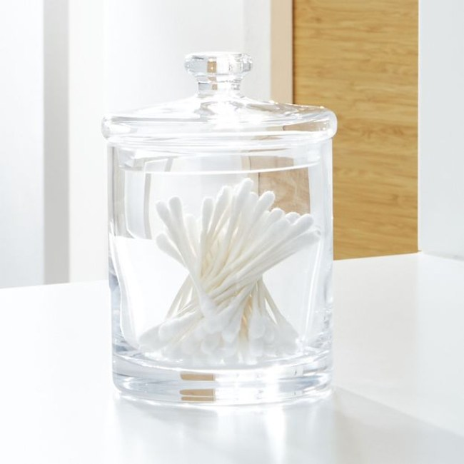 Crate&Barrel Glass 玻璃罐 (S) 8cm