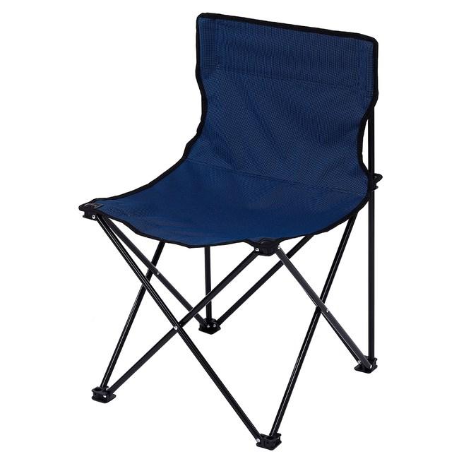 德瑞輕便型折疊式單人椅-深藍色