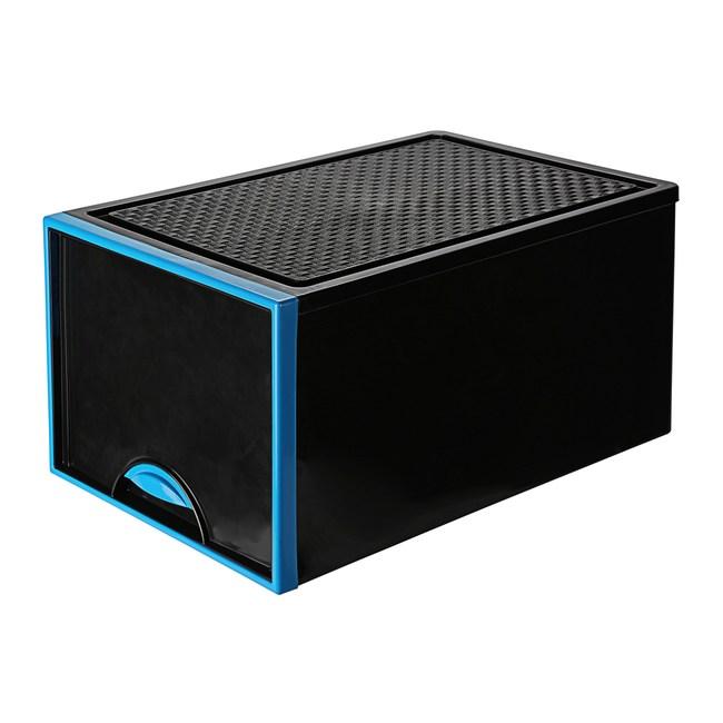 VK-729 時尚黑抽屜整理箱 (混款隨機)