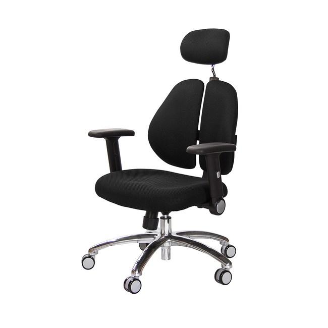 GXG 雙背涼感電腦椅(鋁腳/摺疊升降扶手)TW-2995 LUA1#訂購備註顏色