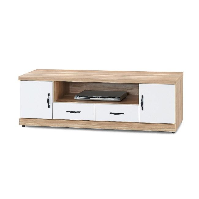 【YFS】雅典娜原木雙色5尺電視櫃-147x40x48cm