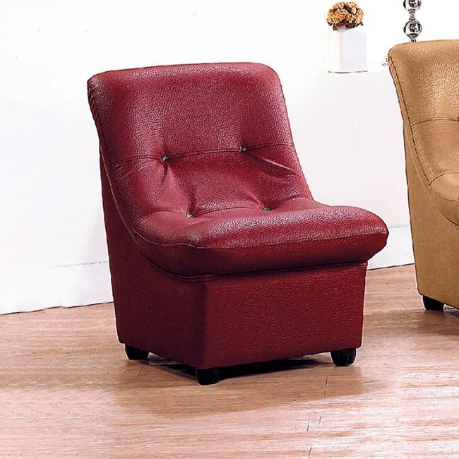 【YFS】舒莉沙發椅-50x66x70cm(三色可選)酒紅