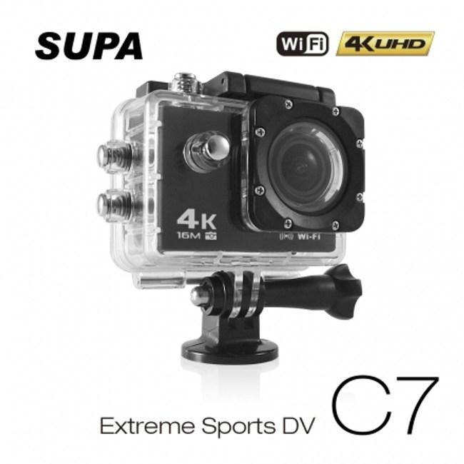 【速霸】C7 4K/1080P超高解析度 WiFi 機車防水型行車記錄