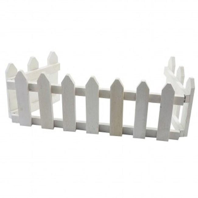 ㄇ型圍籬-白色108CM (6/29)