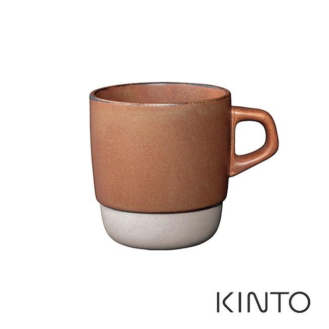 日本KINTO SCS可堆疊式馬克杯-橘