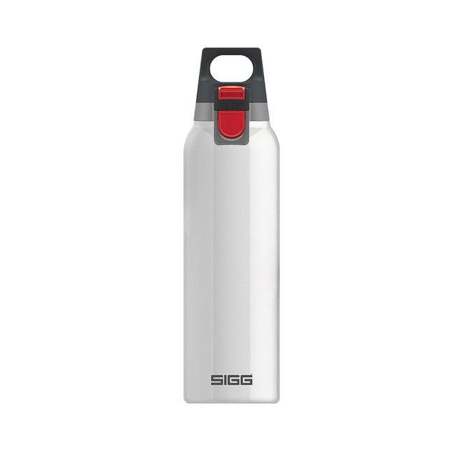 瑞士百年SIGG H&C 彈蓋 不銹鋼保溫瓶 500ml - 純雪