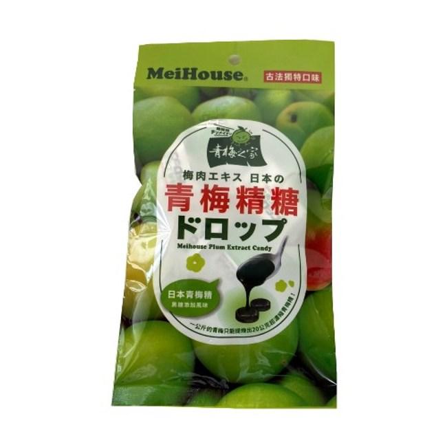 日本梅丹梅子糖80g