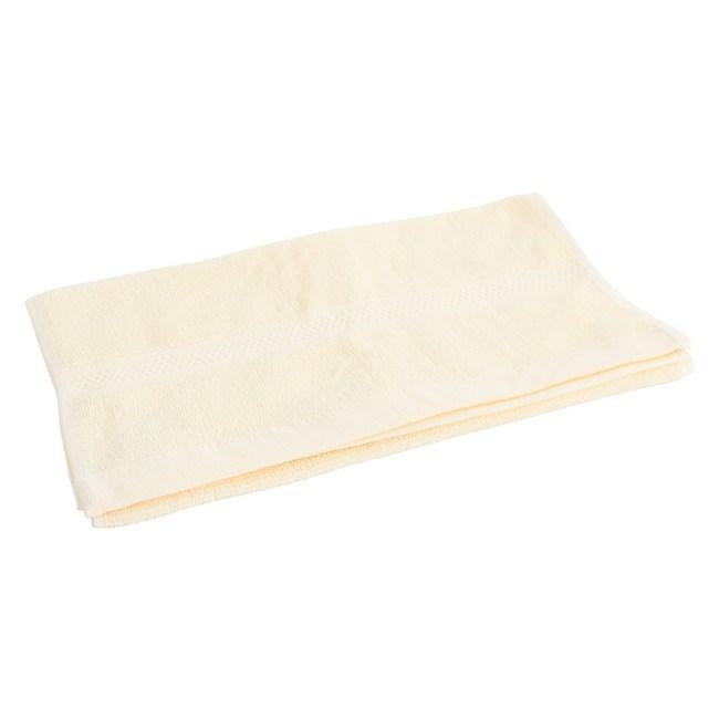 Lovel 嚴選六星級飯店素色純棉毛巾(米黃)