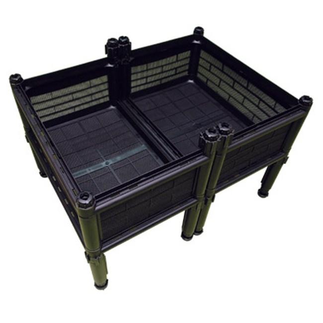 單層雙連通氣式種植箱