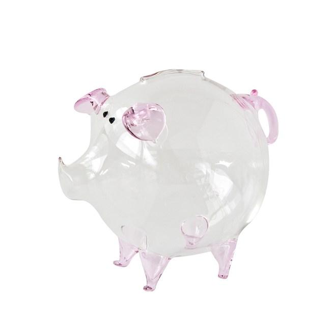 豬事如意琉璃藝品