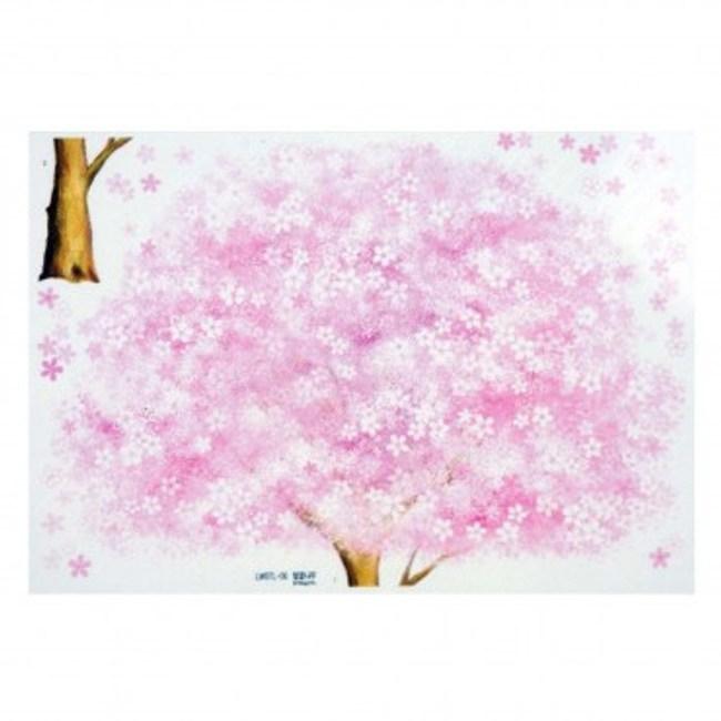韓國Decoin大型創意夜光壁貼 櫻花樹