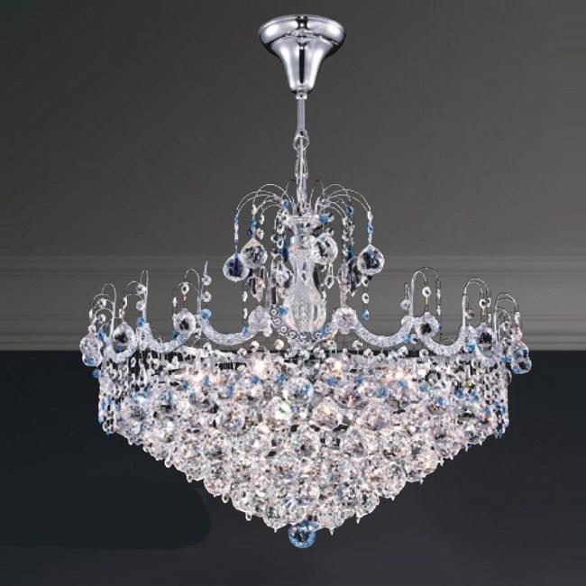 【大巨光】台製華麗風水晶燈_吊燈-中(LW-09-0351)