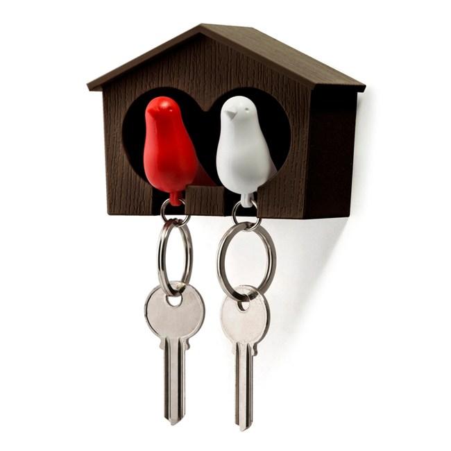 QUALY|雀兒愛巢–咖啡屋(白鳥+紅鳥)