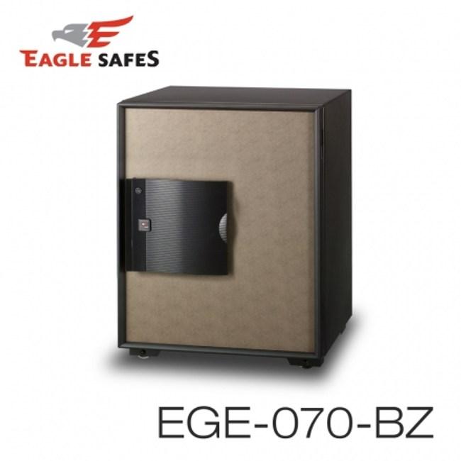 【Eagle Safes韓國】防火保險箱(EGE-070-BZ-藕灰)