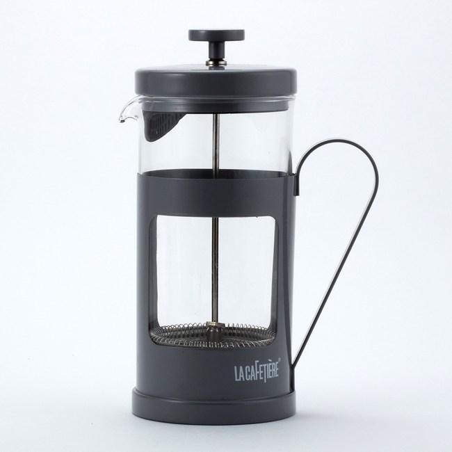 La Cafetiere簡約濾壓壺1000ml-灰