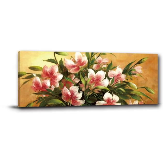 24mama掛畫-單聯式 花卉無框畫 居家裝飾 80x30cm