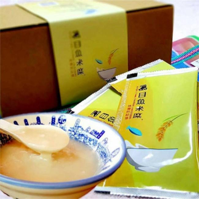 麻豆助碗粿虱目魚米糜禮盒(200g8入盒)