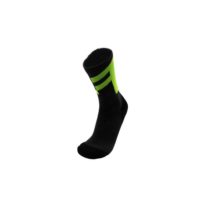 【FOOTLAND】FT多功能訓練中筒厚底運動襪-CP深灰綠-M