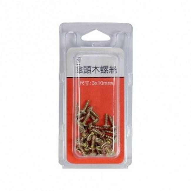 73傘頭木螺絲 3x10mm