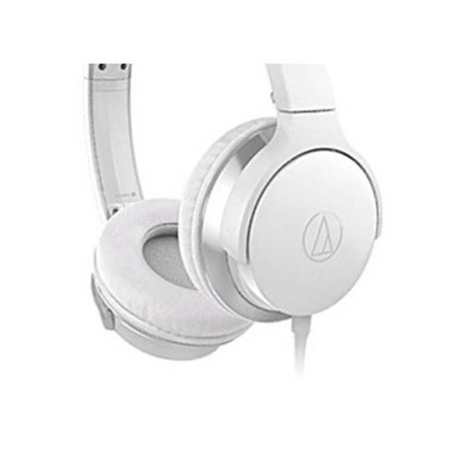 鐵三角 ATH-AR3 白色 摺疊耳罩式耳機 可拆卸導線