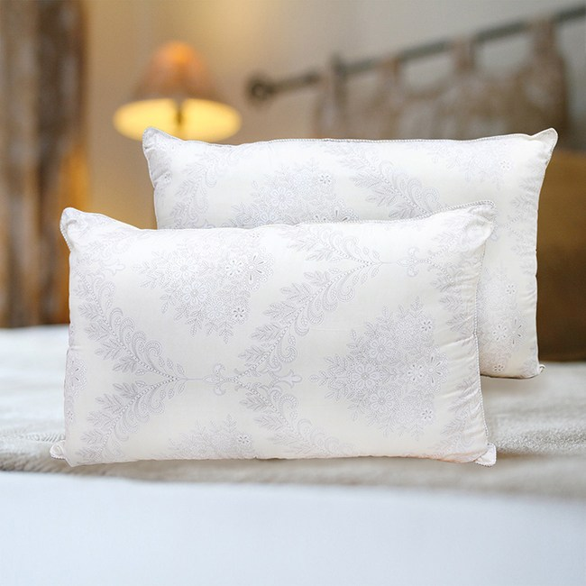 【Indian】抗菌舒眠壓花對枕