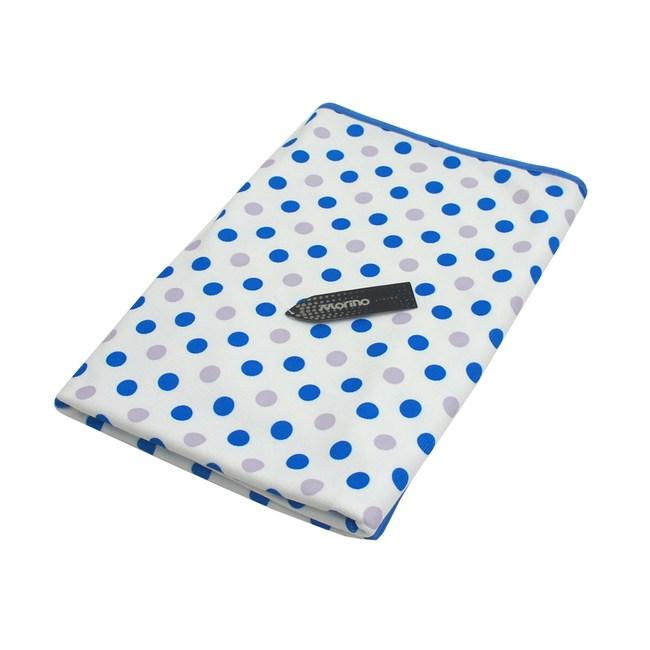MORINO超細纖維滿版浴巾-圓點