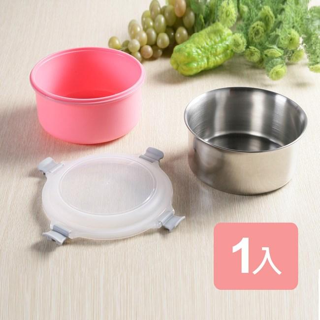 《真心良品xUdlife》藏鮮第二代圓形保鮮隔熱環保餐盒1入組