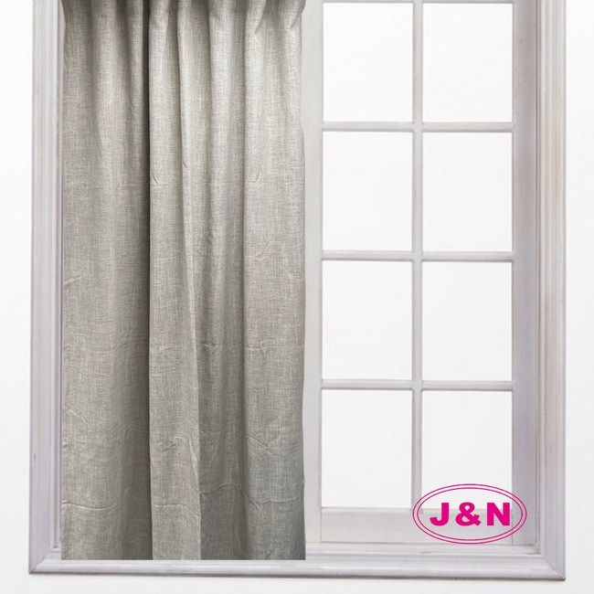 【J&N】亞麻瑞比拉摺窗簾-綠色(270*230cm)綠色