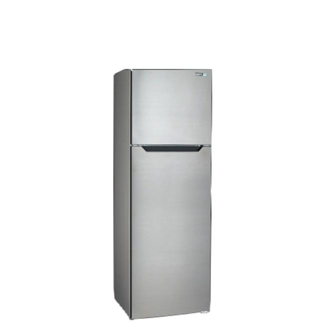 聲寶250公升雙門冰箱不鏽鋼色SR-B25G
