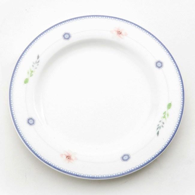 HOLA 綺語骨瓷平盤 15cm 花串
