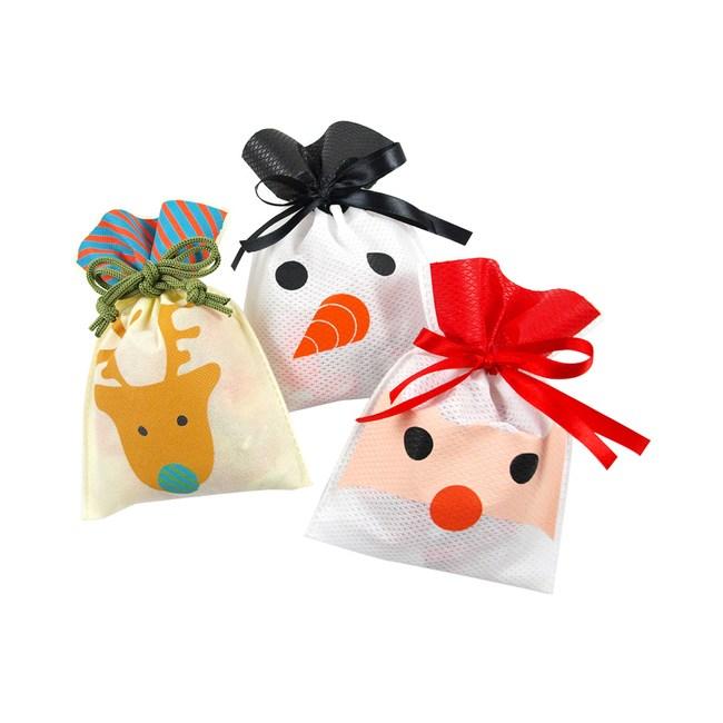 希臘Astir 耶誕束口袋巧克力 老人 雪人 馴鹿 混款