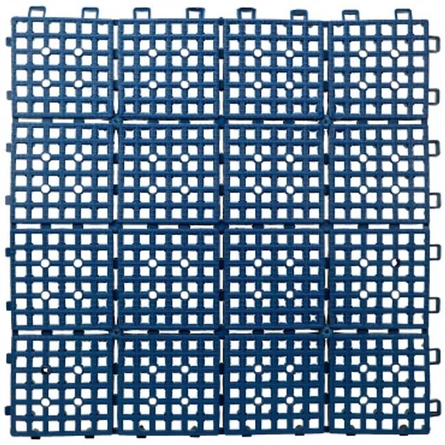TM拼裝防滑地墊藍色6片裝
