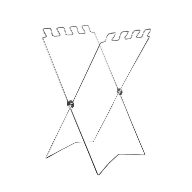 可收式X型不鏽鋼垃圾袋掛架
