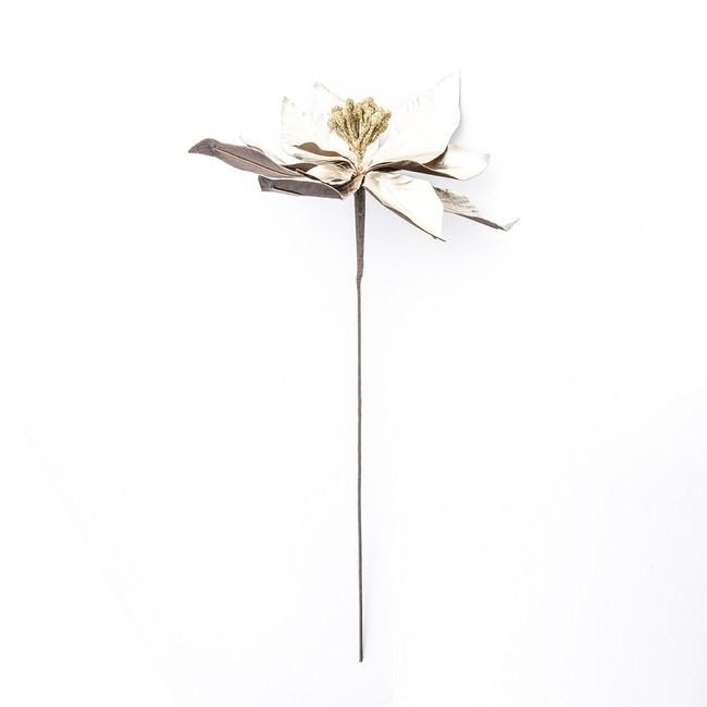 仿皮革聖誕花枝 金 45.5cm