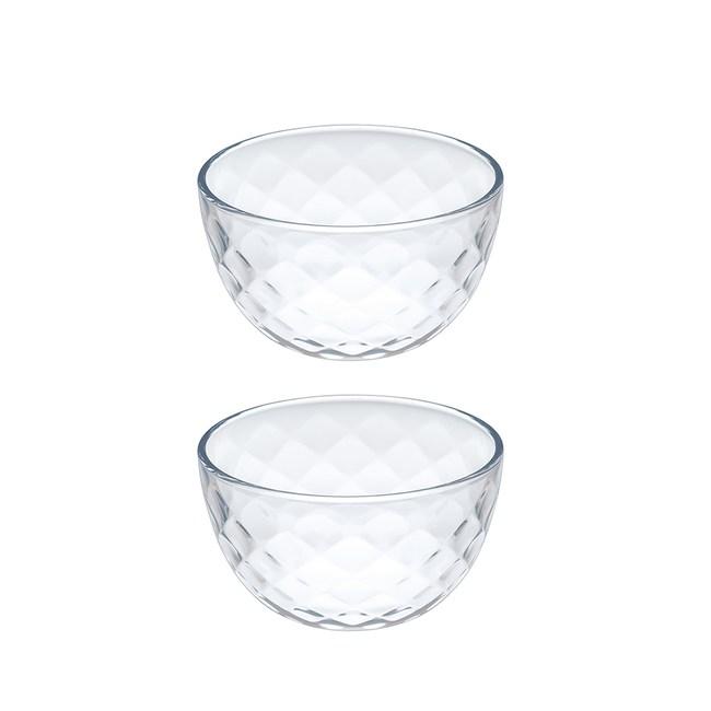 日本TOYO-SASAKI Rufure玻璃小碗-2入組