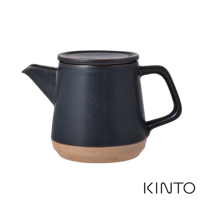 日本KINTO CERAMIC LAB茶壺500ml - 共兩色黑