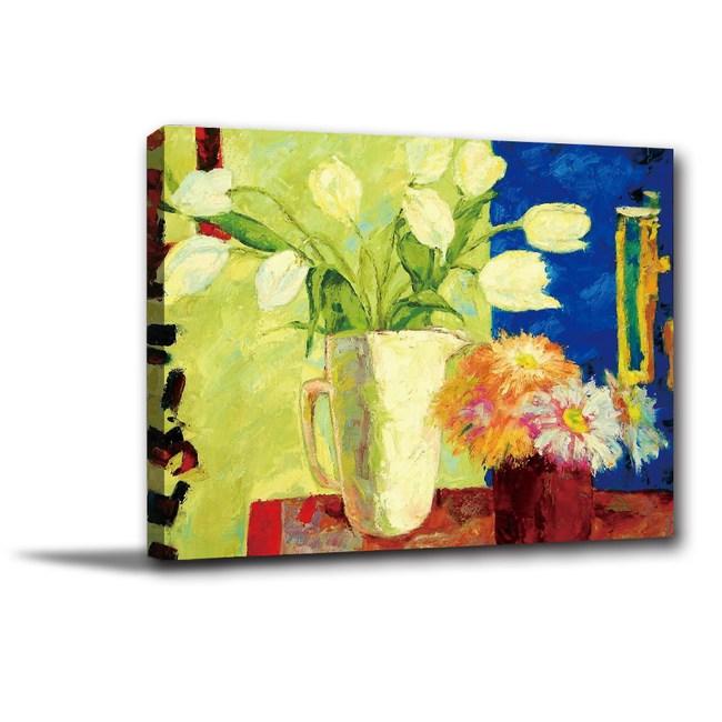 24mama掛畫-單聯式 花卉無框畫 藝術掛畫 40x30cm