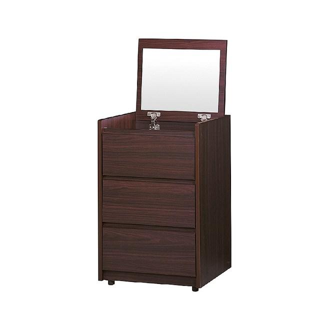 【YFS】亞爾維斯1.6尺胡桃色上掀化妝桌-47.2x40x72cm