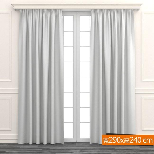極簡直條細紋窗紗 寬290x高240cm