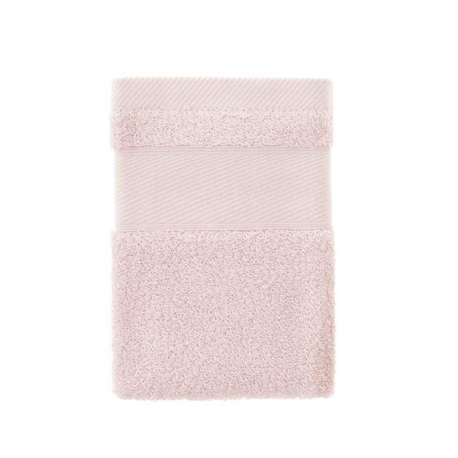 輕柔美國棉方巾-粉 34x34cm
