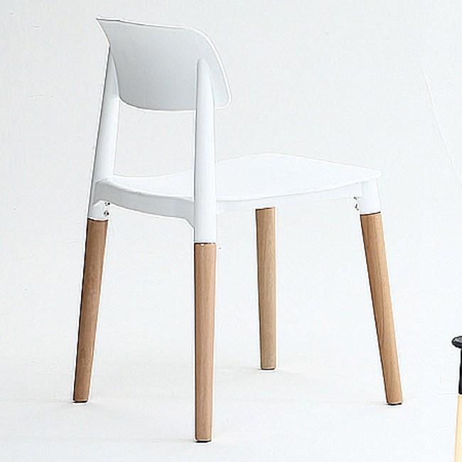 【YFS】奧克休閒椅-43x45.5x77cm(三色可選)白