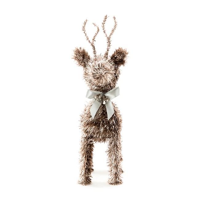 麋鹿擺飾 膚金 30cm