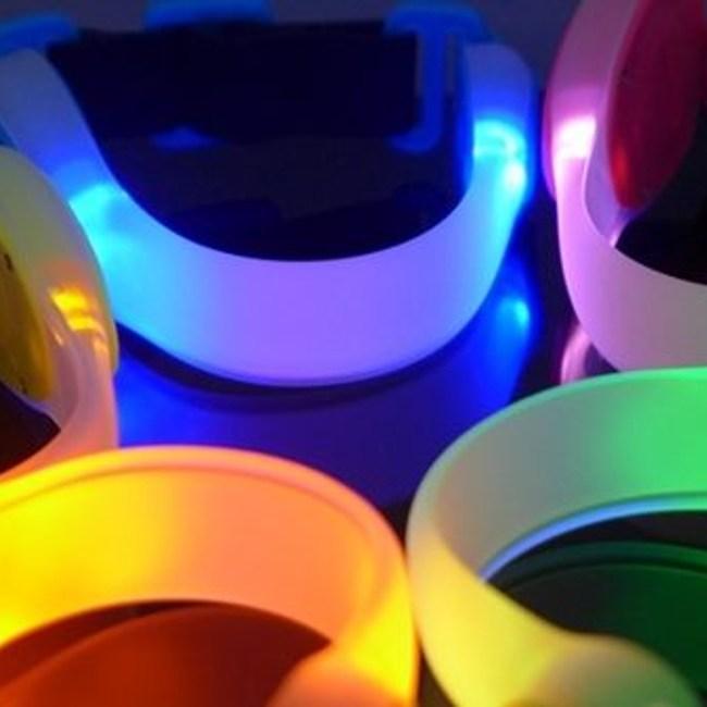 GENTOS全都亮 慢跑放閃燈(LED)-公主粉AX-950PK
