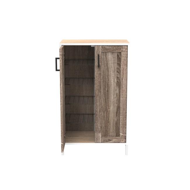 (組) 特力屋萊特 組合收納櫃 黑網層胡門白鐵腳 60x35x91cm
