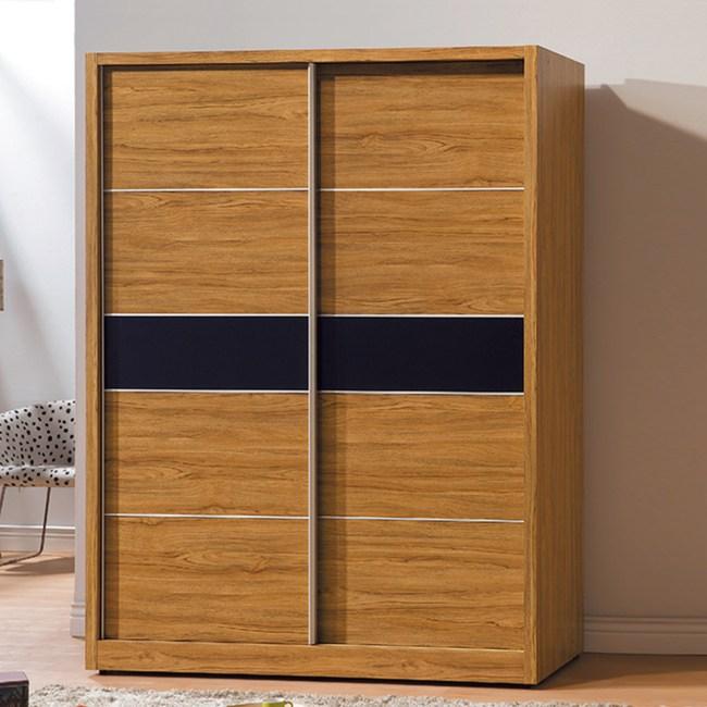 【YFS】拜倫5尺淺柚木衣櫃-144.8x60.5x197cm