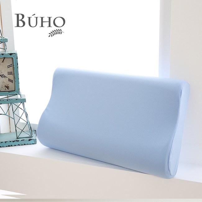 【BUHO】竹炭健康舒壓記憶枕(1入)1入