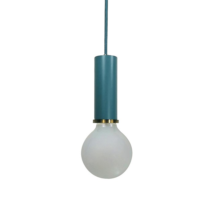 HONEY COMB 百變馬卡龍短管單吊燈 六色款 短管 深藍色 TA8890